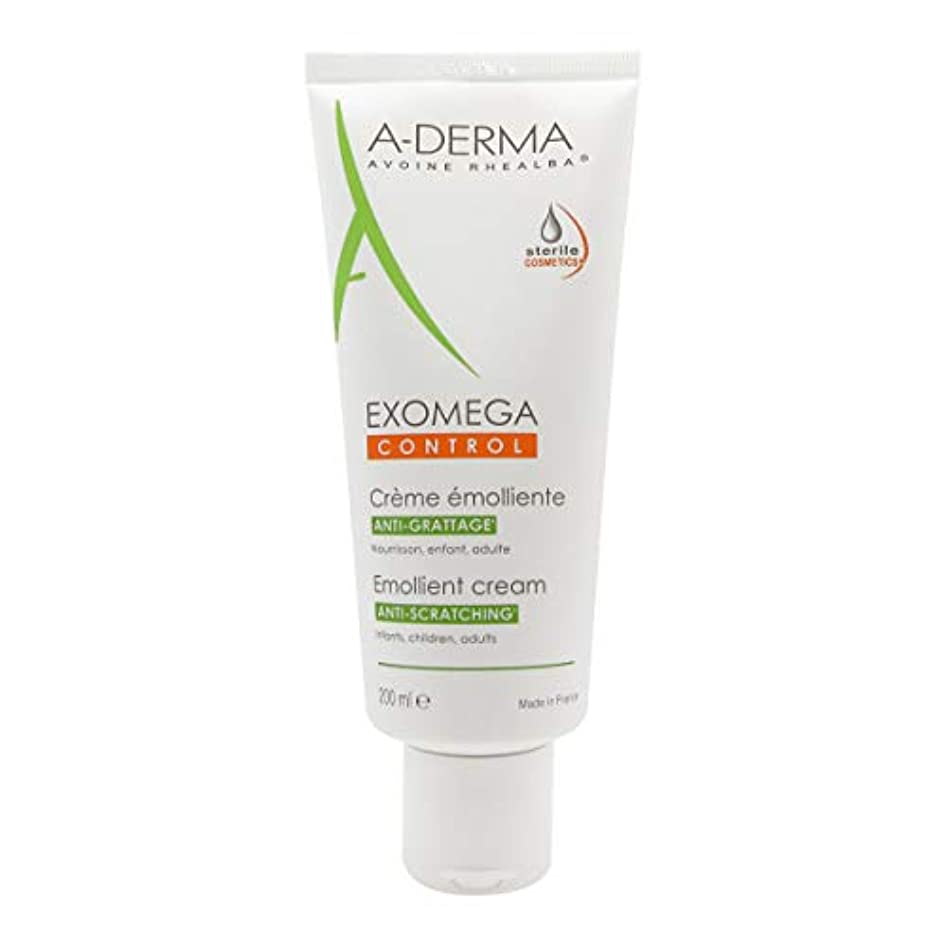 囲まれた書士タイピストA-derma Exomega Control Emollient Cream 200ml [並行輸入品]