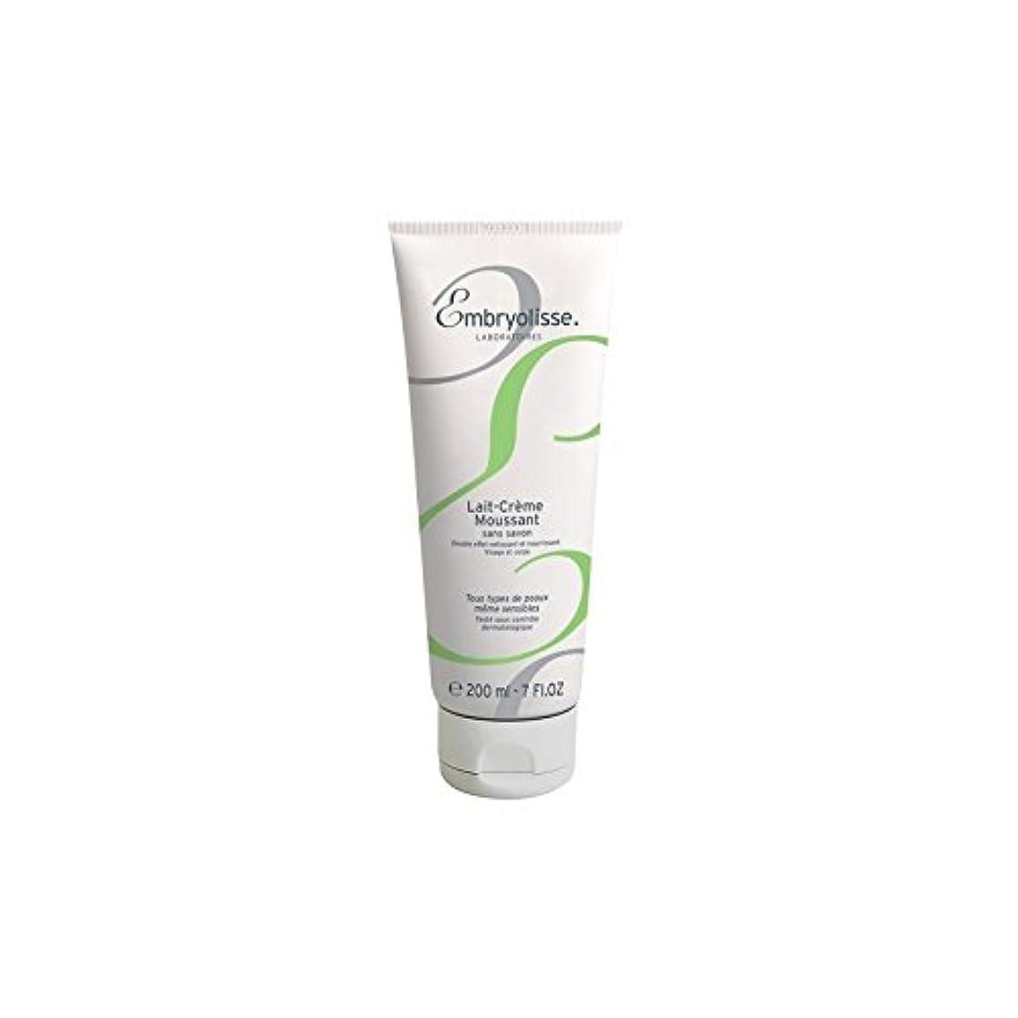 乳製品タオルミュージカルEmbryolisse Foaming Cream Milk (200ml) (Pack of 6) - 発泡クリームミルク(200ミリリットル) x6 [並行輸入品]