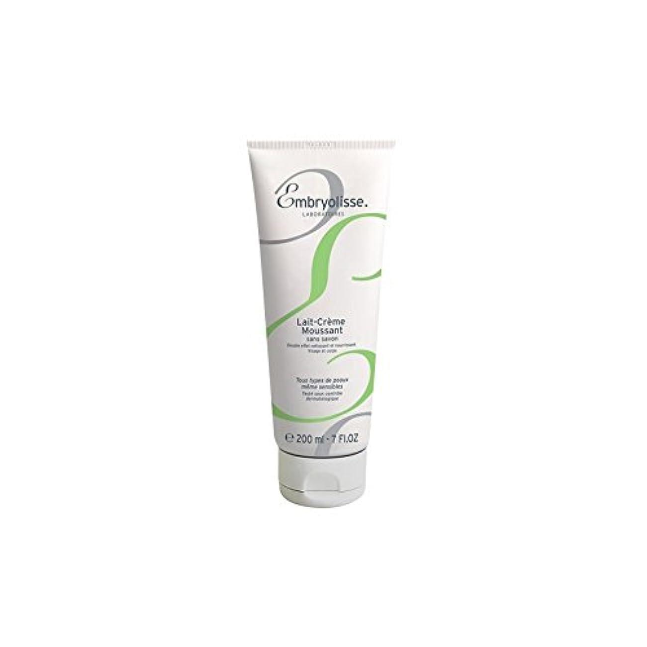 インスタンス誤ロープEmbryolisse Foaming Cream Milk (200ml) (Pack of 6) - 発泡クリームミルク(200ミリリットル) x6 [並行輸入品]