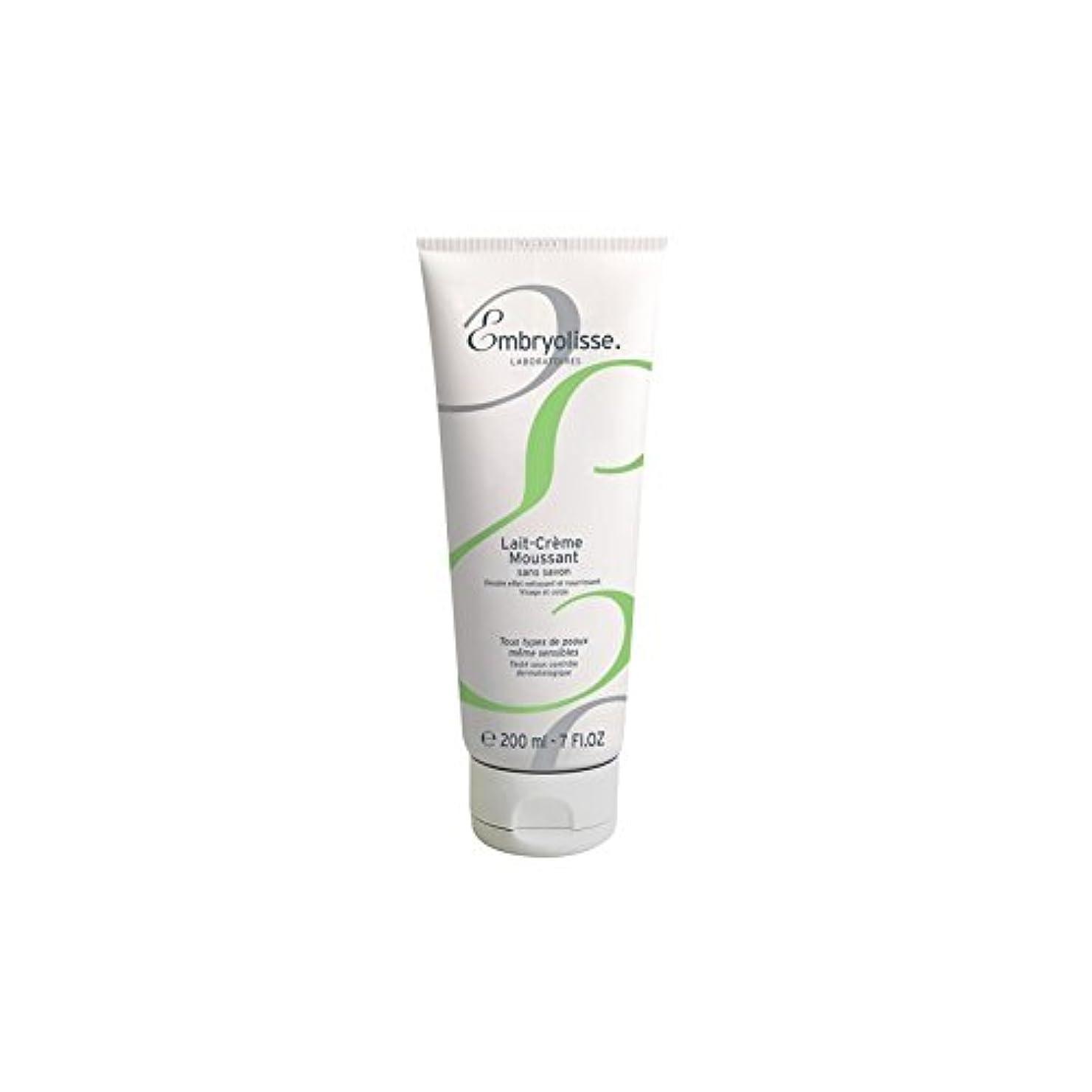 湾買い手擁するEmbryolisse Foaming Cream Milk (200ml) (Pack of 6) - 発泡クリームミルク(200ミリリットル) x6 [並行輸入品]
