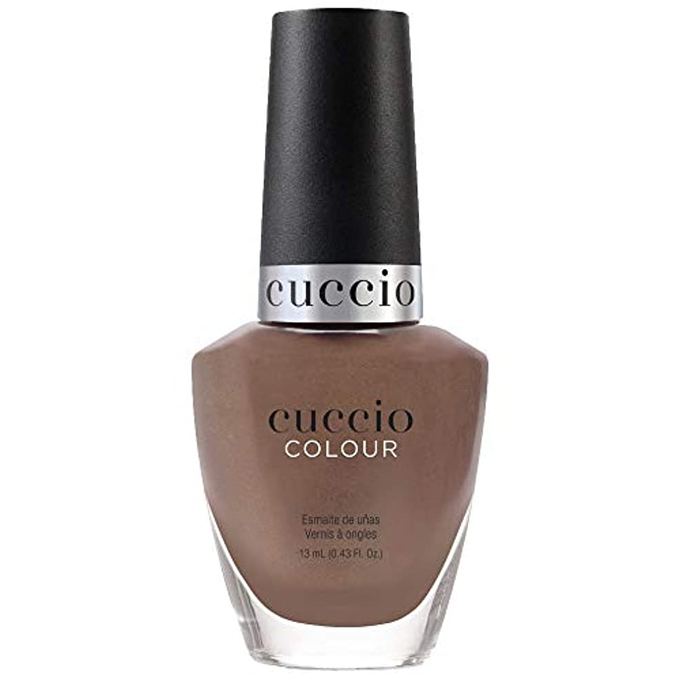 に負けるゴールデン事故Cuccio Colour Nail Lacquer - Tapestry Collection - Positive Thread - 13 mL / 0.43 oz