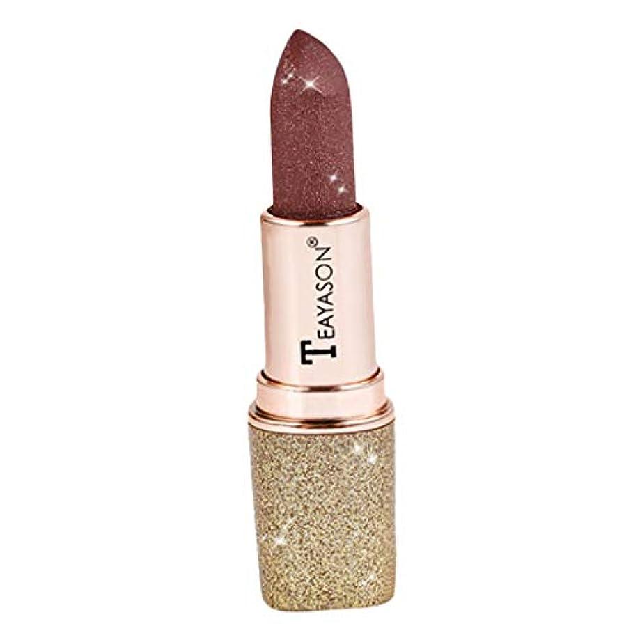 繊毛が欲しいクリケット口紅 マット 化粧 メイクアップ リップスティック リップグロス 女の子 日常 全12色 - 04