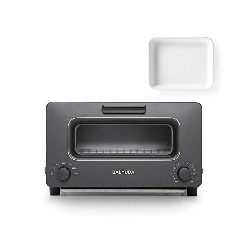 バルミューダ スチームオーブントースター BALMUDA The Toaster K01E-KG(ブラック)+野田琺瑯ホワイトバット...