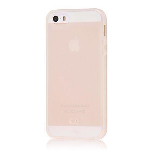 レイ・アウト iPhone SE/iPhone5s/iPhone5 ケース シリコンケース シルキータッチ ホワイト(半透明) RT-P11...