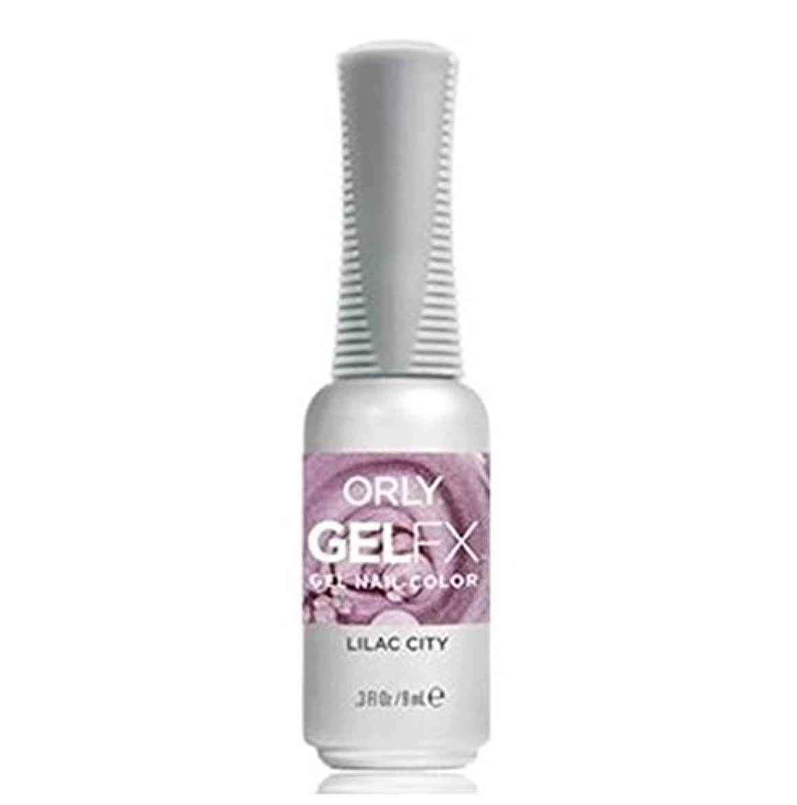 ギャラリー傑出したモンスターOrly Gel FX - Pastel City Collection Spring 2018 - Lilac City - 0.3 oz / 9 mL