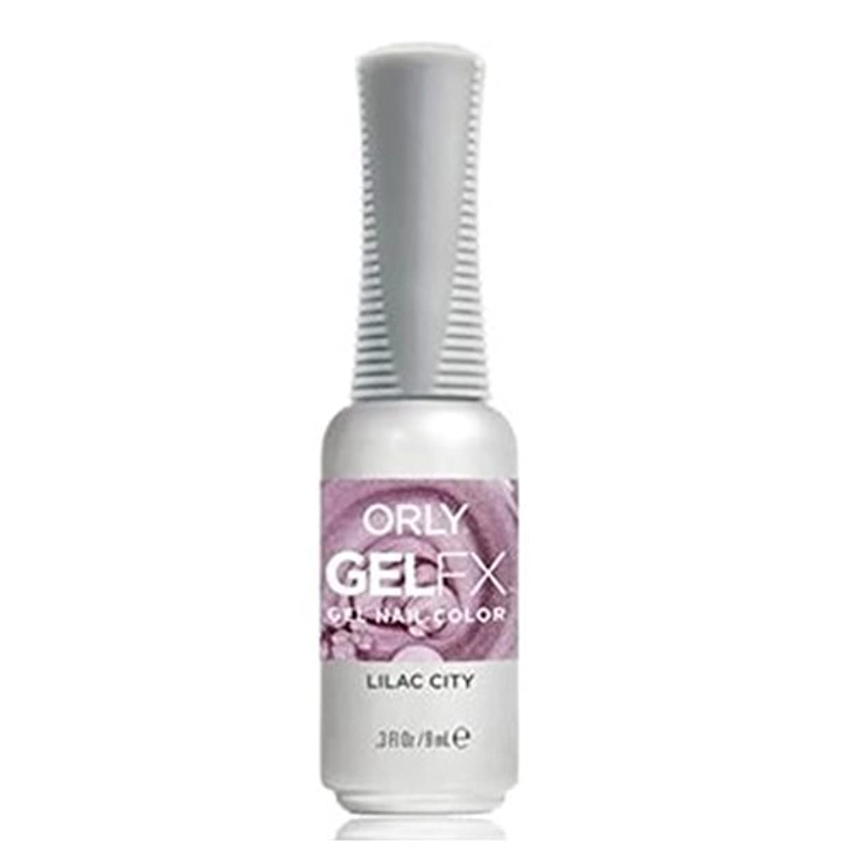 バイソンマルクス主義者退院Orly Gel FX - Pastel City Collection Spring 2018 - Lilac City - 0.3 oz / 9 mL