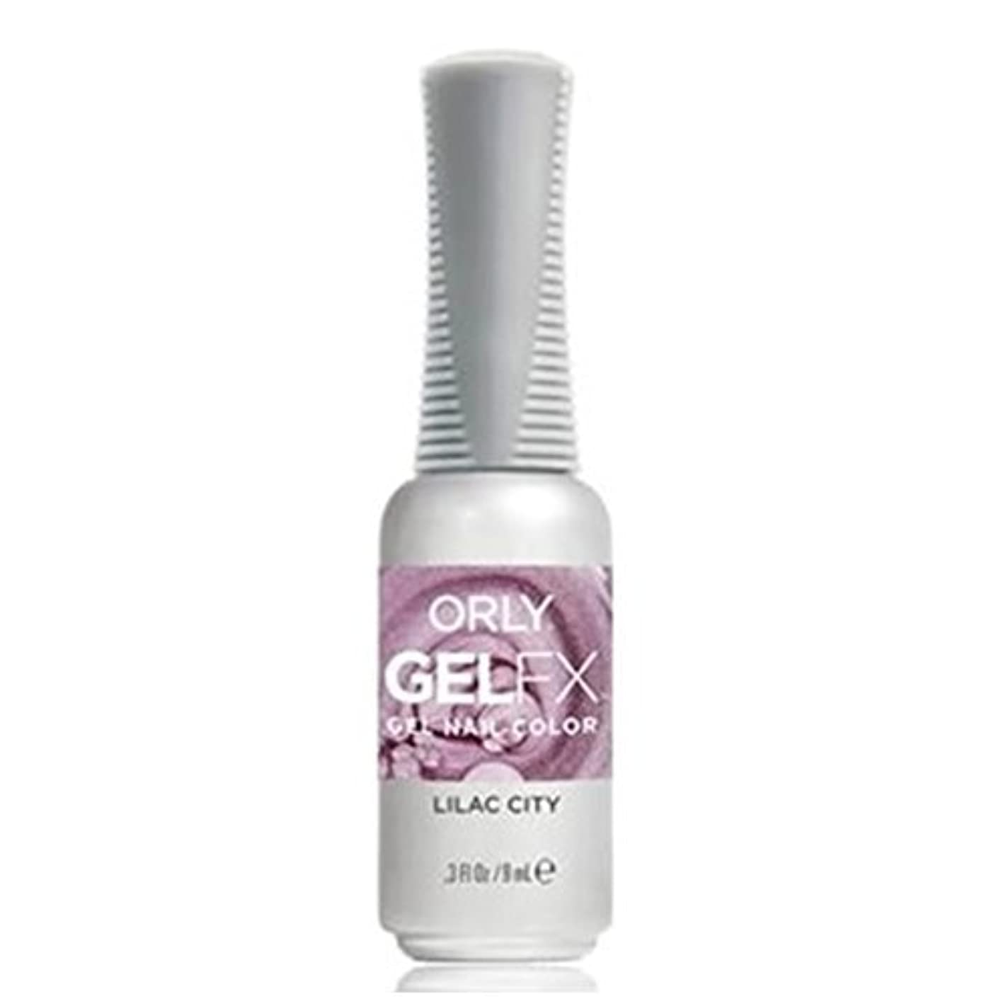 答え偽物等価Orly Gel FX - Pastel City Collection Spring 2018 - Lilac City - 0.3 oz / 9 mL