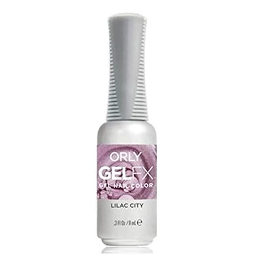 潜水艦無礼にみなさんOrly Gel FX - Pastel City Collection Spring 2018 - Lilac City - 0.3 oz / 9 mL