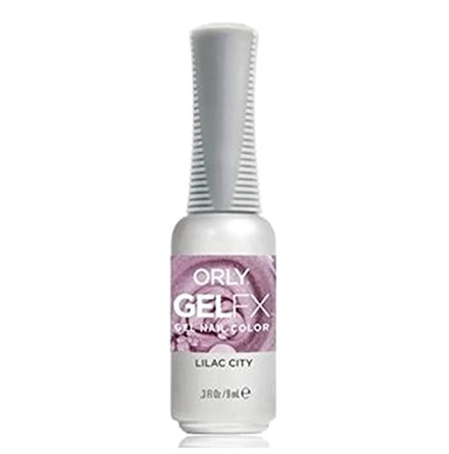 前件しょっぱいレコーダーOrly Gel FX - Pastel City Collection Spring 2018 - Lilac City - 0.3 oz / 9 mL