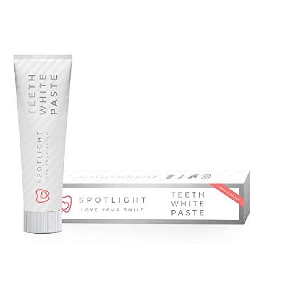 慈悲欠点消防士[Spotlight Teeth Whitening ] スポットライト歯のホワイトニング白いペースト - Spotlight Whitening Teeth White Paste [並行輸入品]