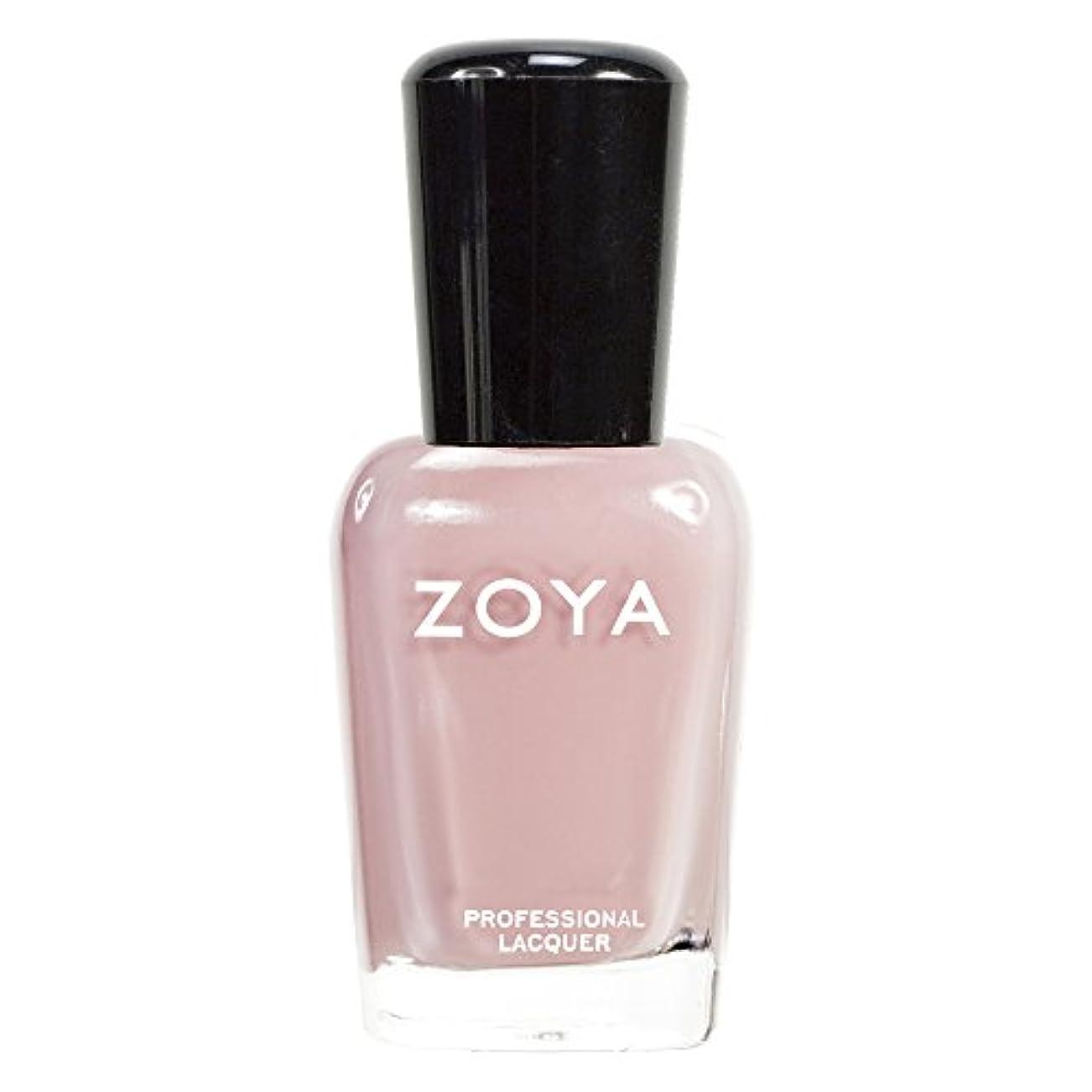 ZOYA ゾーヤ ネイルカラーZP279(AVRIL) アヴリル 15ml 柔らかいニュートラルピンク マット/クリーム 爪にやさしいネイルラッカーマニキュア