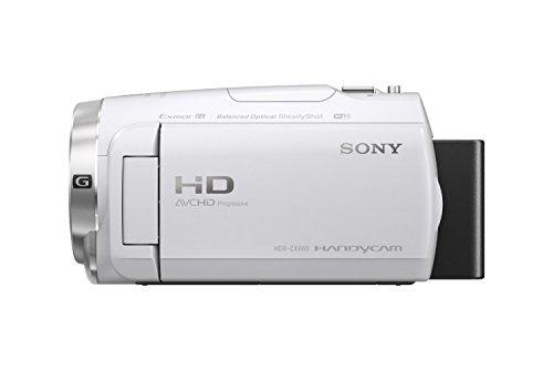 ソニーSONYビデオカメラHandycamHDR-CX680光学30倍内蔵メモリー64GBホワイトHDR-CX680W