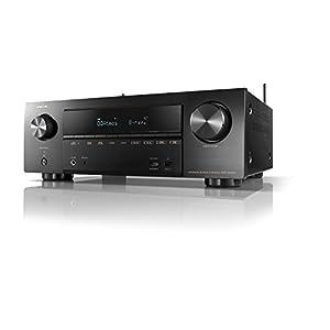 DENON AVレシーバー 7.2ch Dolby Atmos/DTS:X/HDR/HEOS/Airplay2対応 ブラック AVR-X1500H-K