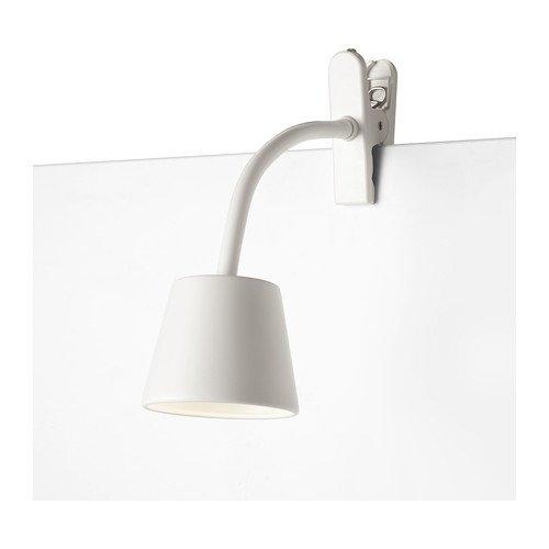 RoomClip商品情報 - IKEA(イケア) TISDAG ホワイト 60209214 LEDクランプスポットライト、ホワイト