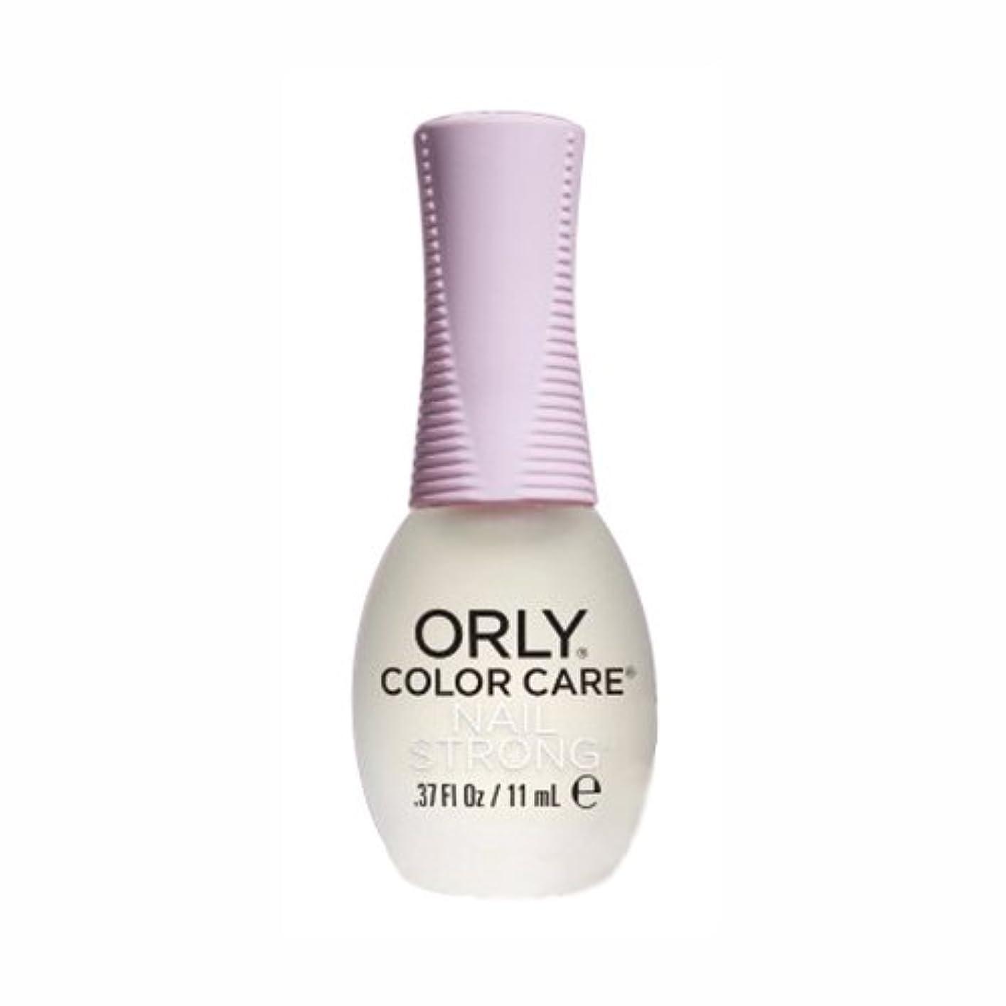 貫入文字通り炎上ORLY(オーリー) カラーケア ネイルストロング 11mL (ベース&トリートメント/透明)
