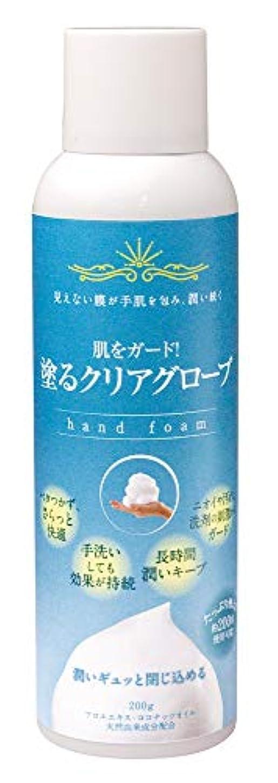 皮膚保護フォームA 塗るクリアグローブ