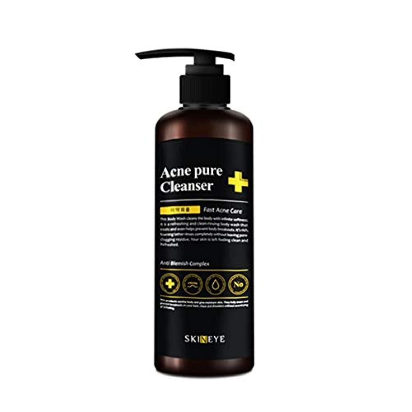 順応性のあるセクタ大惨事スキンアイアクネピュアクレンザー300mlの老廃物除去、Skineye Acne Pure Cleanser 300ml Waste Removal [並行輸入品]