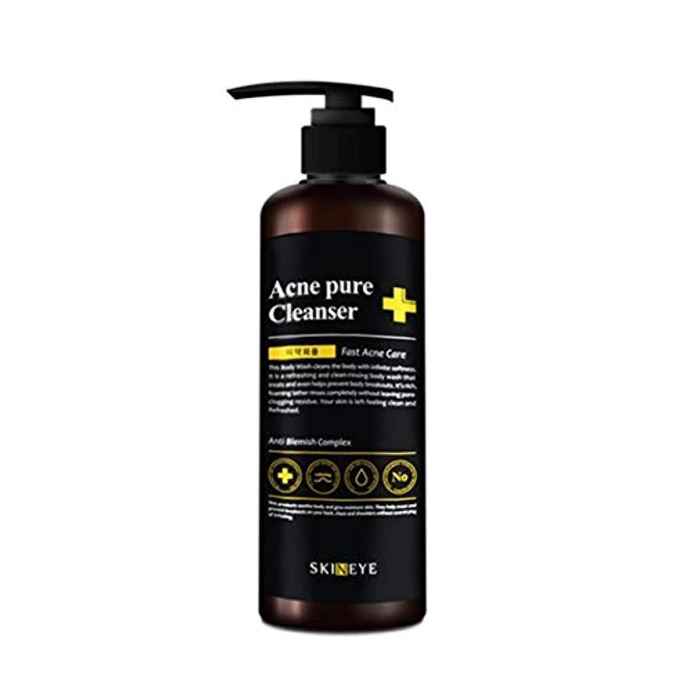 野な胆嚢リンケージスキンアイアクネピュアクレンザー300mlの老廃物除去、Skineye Acne Pure Cleanser 300ml Waste Removal [並行輸入品]