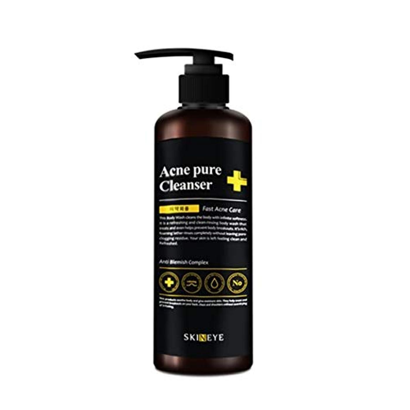 独立して定説金属スキンアイアクネピュアクレンザー300mlの老廃物除去、Skineye Acne Pure Cleanser 300ml Waste Removal [並行輸入品]