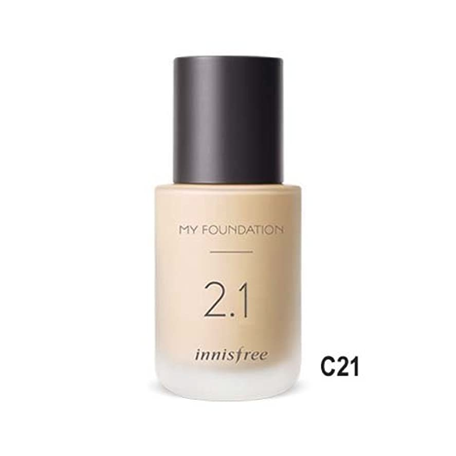 [イニスフリー] innisfree [マイファンデーション 30ml - セミマット 25種] My Foundation 30ml * Semi-matte 25 Shades [並行輸入品] (1. ナチュラル カバー...