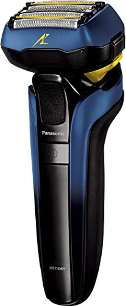 ショートカット神社製作パナソニック ラムダッシュ メンズシェーバー 5枚刃 お風呂剃り可 青 ES-CSV6S-A