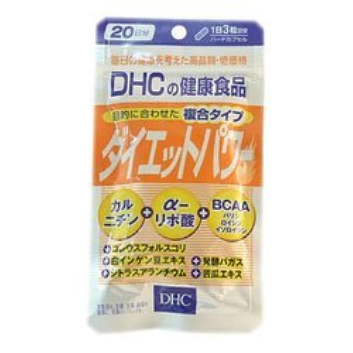 ボトルネック無謀手のひら【DHC】ダイエットパワー 20日分 (60粒) ×20個セット
