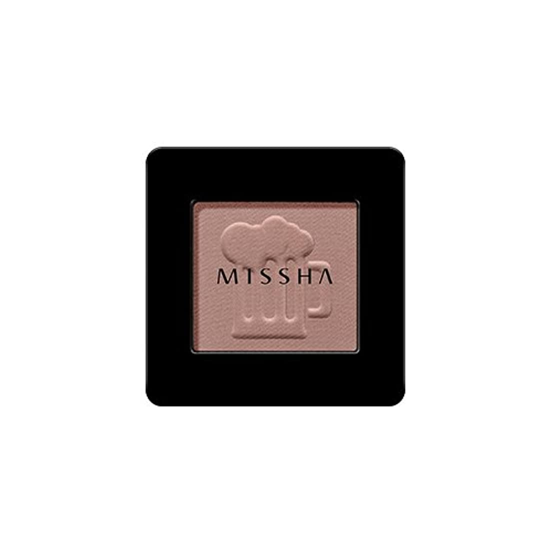 はぁ極めて重要な侵略[2016 F/W New Color] MISSHA Modern Shadow [Matt]/ミシャ モダン シャドウ [マット] (#MBR07 Honey Potato)