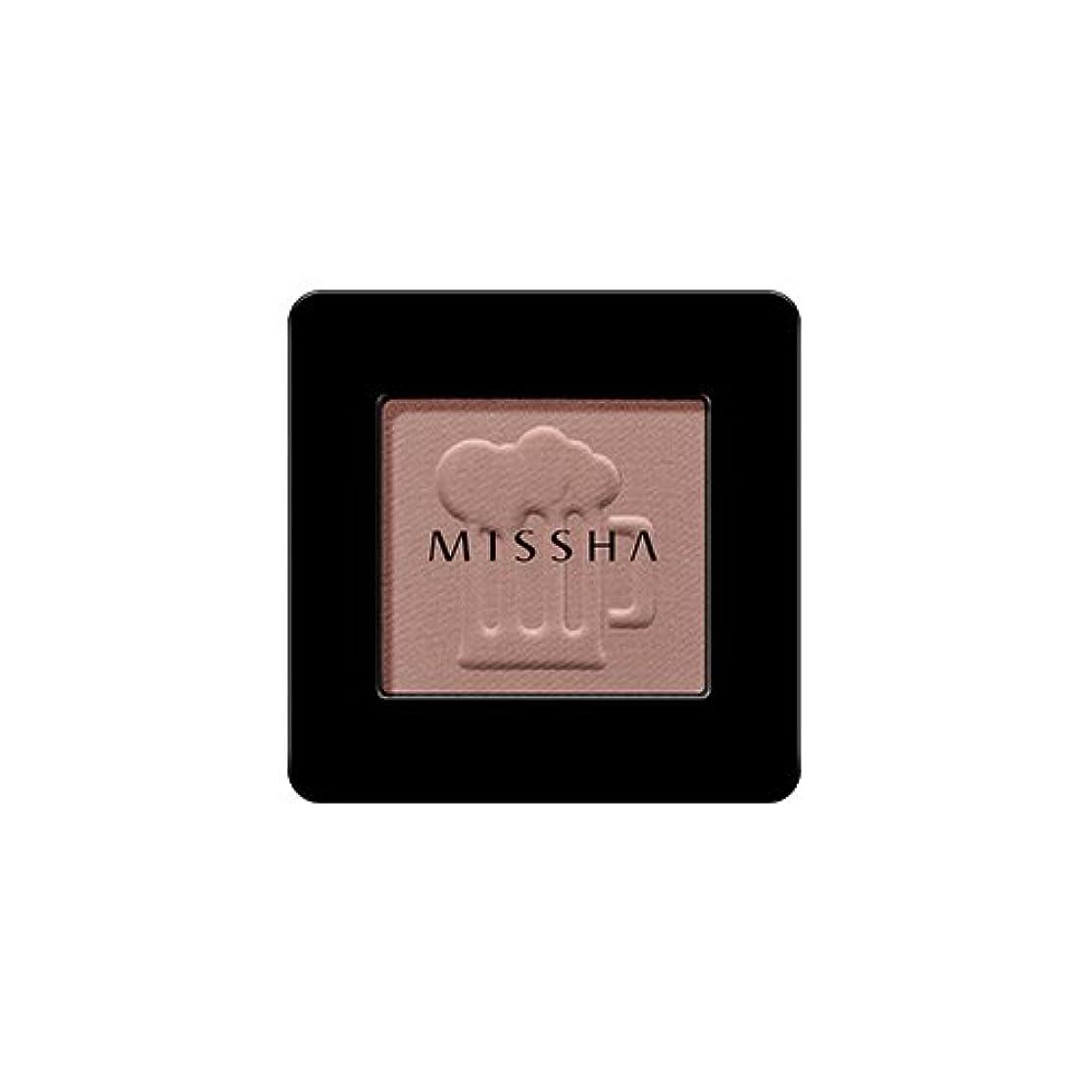 コックジェム作曲する[2016 F/W New Color] MISSHA Modern Shadow [Matt]/ミシャ モダン シャドウ [マット] (#MBR07 Honey Potato)