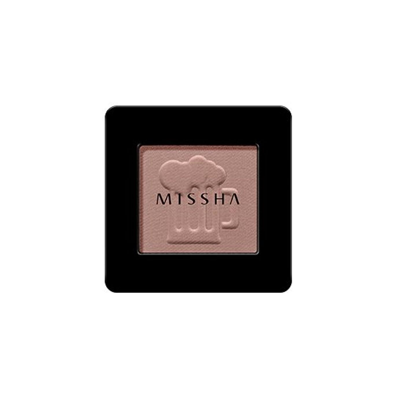 ハンカチ考えほかに[2016 F/W New Color] MISSHA Modern Shadow [Matt]/ミシャ モダン シャドウ [マット] (#MBR07 Honey Potato)