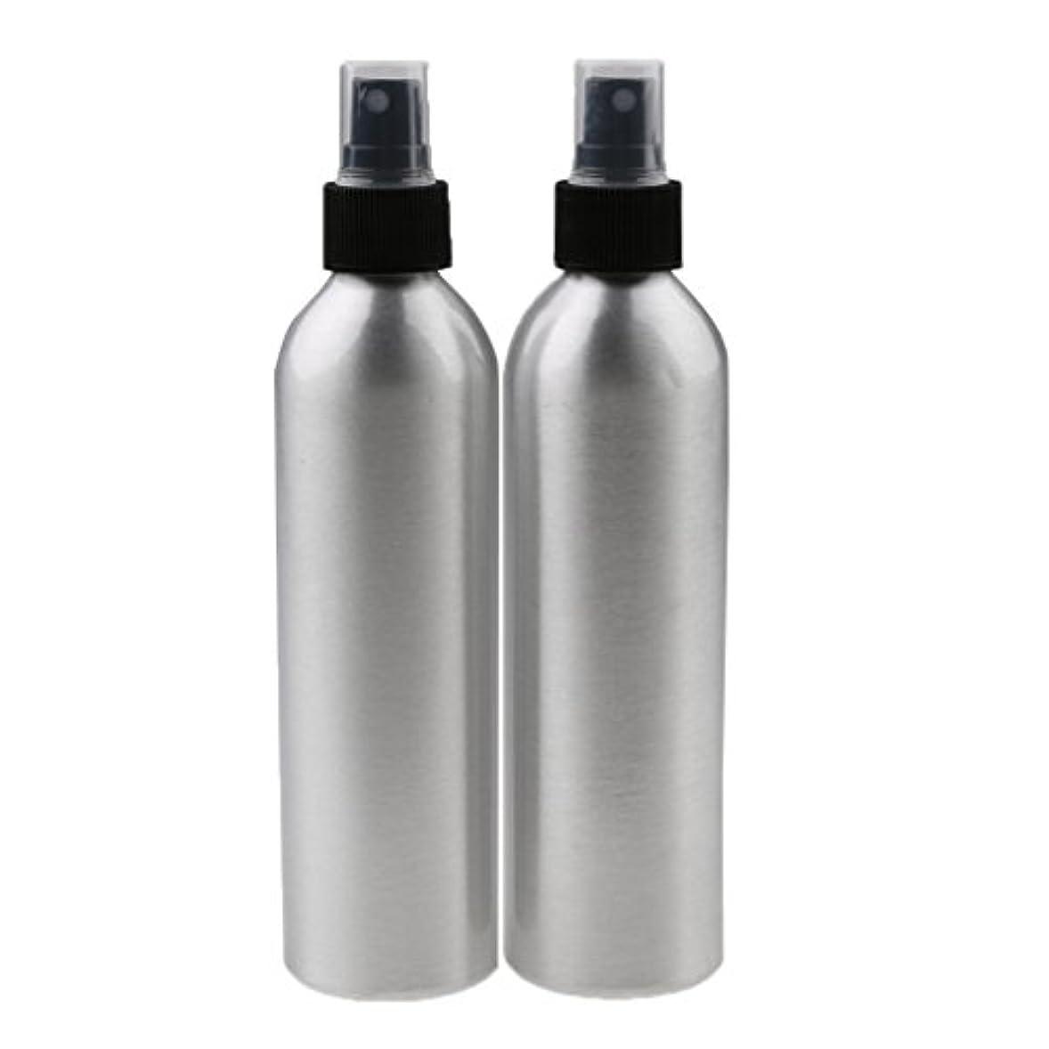 テニス別れる指Lovoski 2個入り 旅行 アルミ ミスト スプレー 香水ボトル メイクアップ スプレー アトマイザー 香水瓶 携帯用 軽量 便利  全4サイズ - 100ml