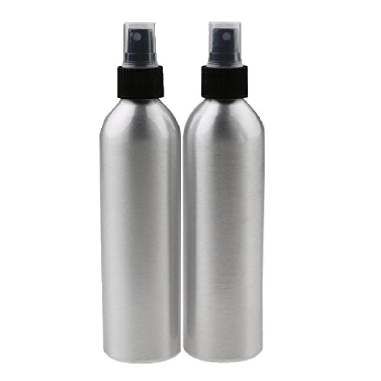 ジャンク共同選択怠感Lovoski 2個入り 旅行 アルミ ミスト スプレー 香水ボトル メイクアップ スプレー アトマイザー 香水瓶 携帯用 軽量 便利  全4サイズ - 100ml