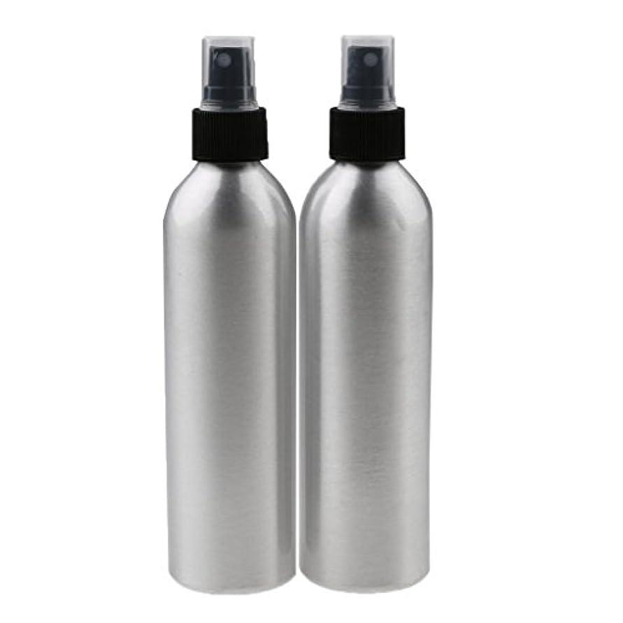 オークランド情熱的持参2個 旅行 アルミ ミスト スプレー 香水ボトル メイクアップ 出張/旅行/海外に適用  全4サイズ - 100ml