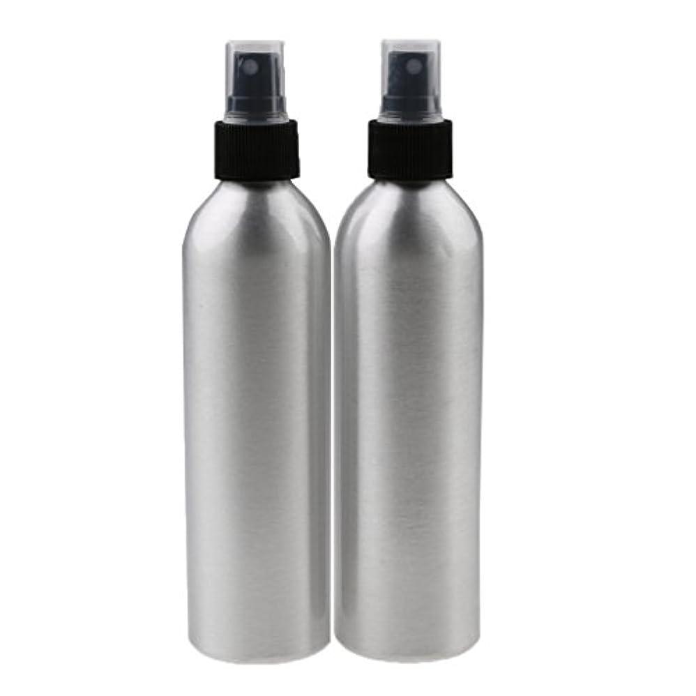 感情のすずめ永遠のLovoski 2個入り 旅行 アルミ ミスト スプレー 香水ボトル メイクアップ スプレー アトマイザー 香水瓶 携帯用 軽量 便利  全4サイズ - 100ml