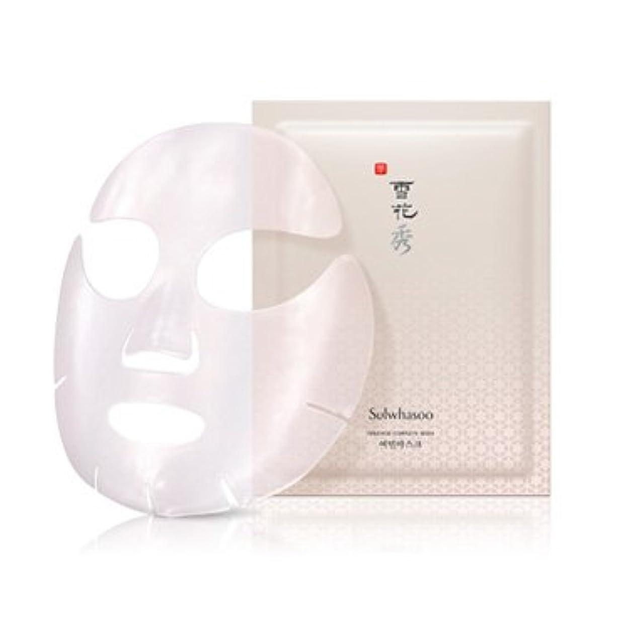 刺繍滴下望まない雪花秀(ソルファス)ヨミンマスク(Innerise Complete Mask)5枚入
