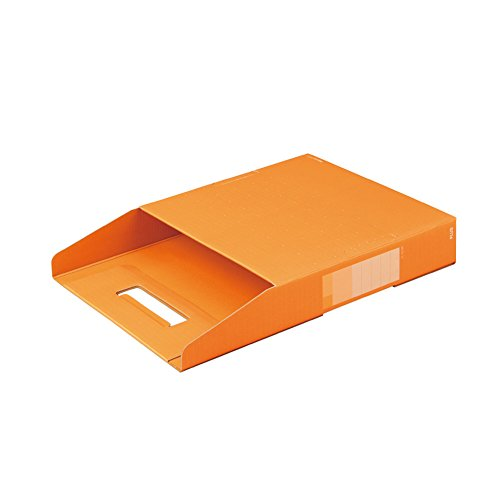 プラス ボックストレー A4 厚み50mm デジャヴ 87-754 ネーブルオレンジ