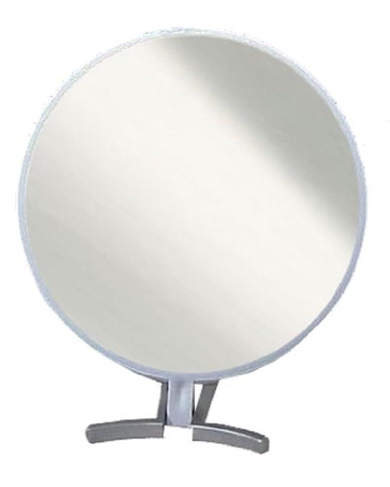 温度計先のことを考える花束メリー 折立式ハンドミラー シルバー No.1500