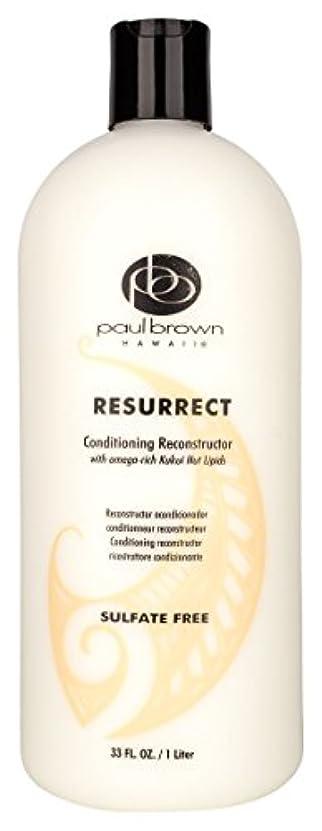 苛性満了お風呂を持っているPaul Brown Hawaii コンディショナーリットル、33オンスを復活 33 fl。オンス 明確な