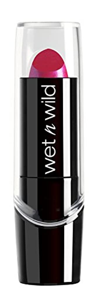 居眠りする議論する回路WET N WILD New Silk Finish Lipstick Fuchsia w Blue Pearl (並行輸入品)