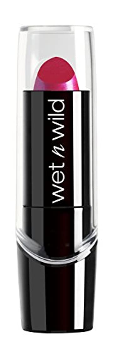 超音速銀ジョグWET N WILD New Silk Finish Lipstick Fuchsia w Blue Pearl (並行輸入品)