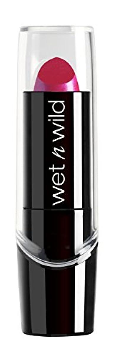 ジョットディボンドン女将消防士WET N WILD New Silk Finish Lipstick Fuchsia w Blue Pearl (並行輸入品)