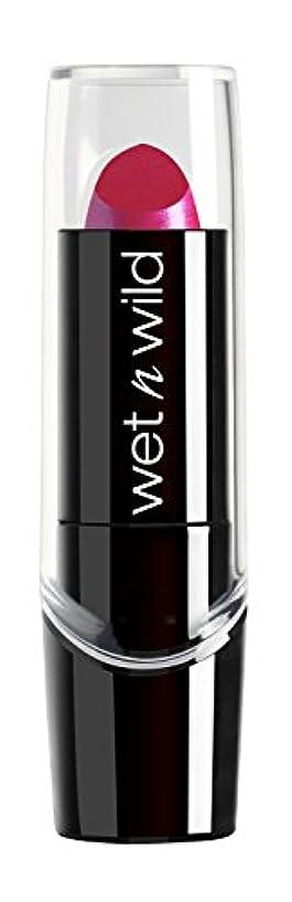 つまずく海岸協力WET N WILD New Silk Finish Lipstick Fuchsia w Blue Pearl (並行輸入品)