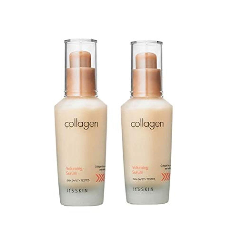 主要なチャンピオンイッツスキンコラーゲン弾力セラム40ml x 2本セット、It's Skin Collagen Voluming Serum 40ml x 2ea Set [並行輸入品]