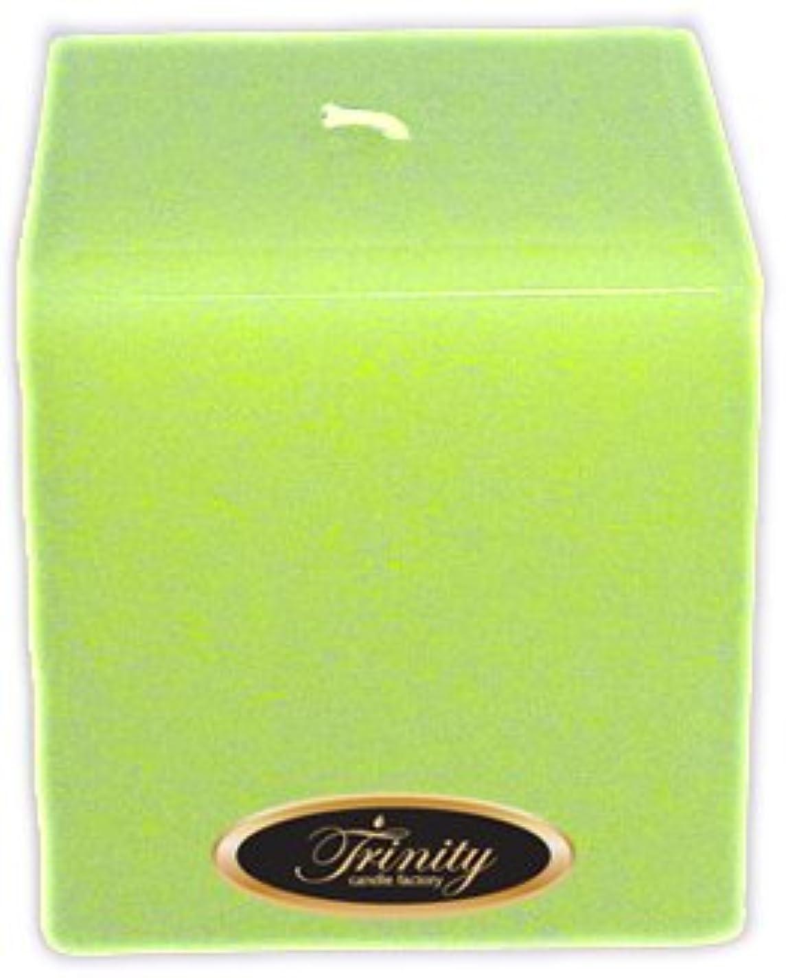 まつげ飛躍ラッシュTrinity Candle工場 – モロッコメロン – Pillar Candle – 正方形 – 4 x 4