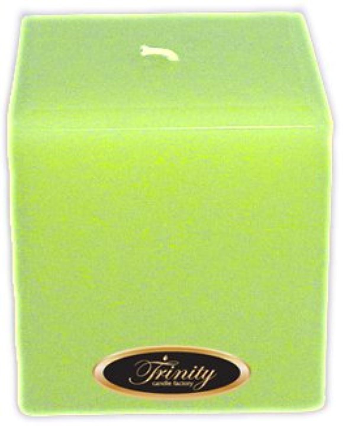 制限する十分サーバントTrinity Candle工場 – モロッコメロン – Pillar Candle – 正方形 – 4 x 4