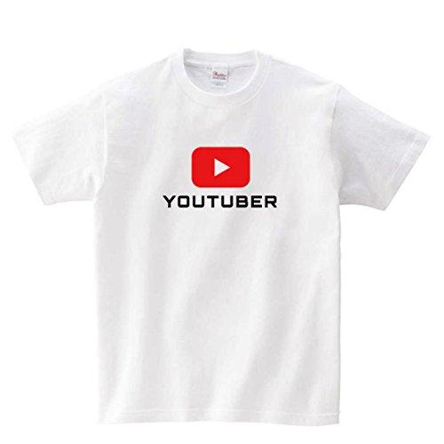 Youtuber ユーチューバー#02 Tシャツ 白 ホワイ...