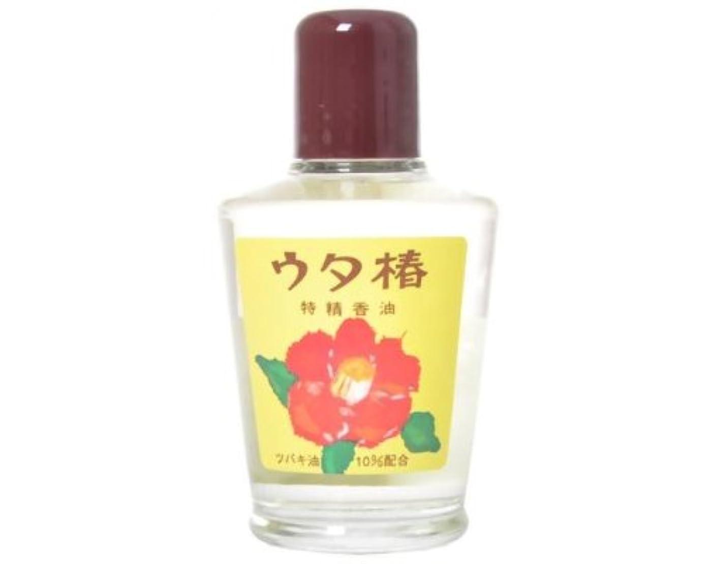フラフープ作り眩惑するウタ椿 香油 (白) 95mL