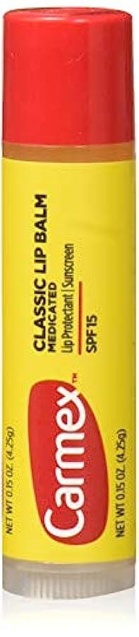 待つ見つけるモーターCarmex Lip Moisturizing Click-Stick With Sunscreen SPF#15 Original Balm (Pack of 12) (並行輸入品)