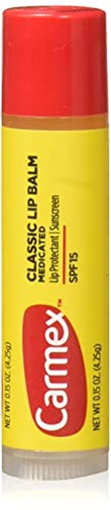 デュアル散文ベッドCarmex Lip Moisturizing Click-Stick With Sunscreen SPF#15 Original Balm (Pack of 12) (並行輸入品)