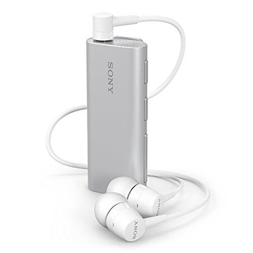 SONY ワイヤレスイヤホン SBH56 : カナル型 Bluetooth対応 リモコン・マイク付き シルバー SBH56 S