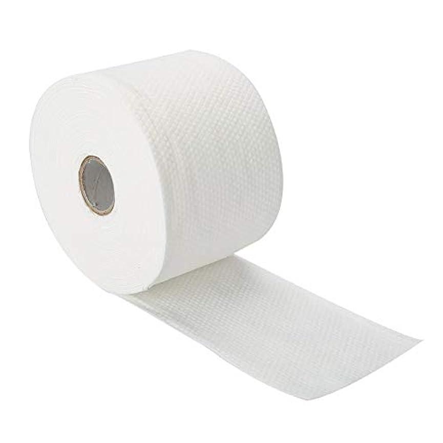 構造の使い捨て可能 表面 タオル 柔らかい Nonwoven クリーニングの化粧品の綿パッド25m